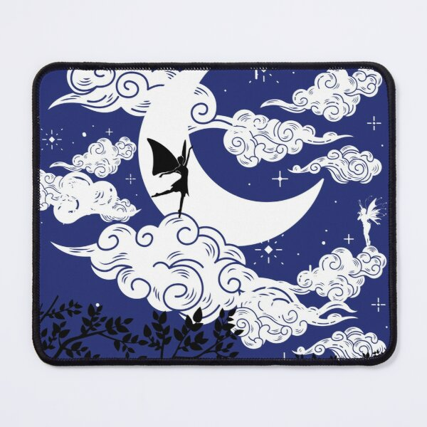 Fairy in the Moonlight Mouse Pad