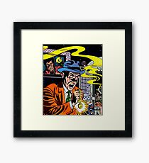 AFRAID OF THE DARK 3 Framed Print