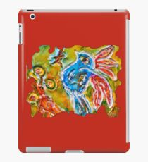 CUTE INSPIRATIONAL BLUE BIRD FUNNY QUOTE  iPad Case/Skin