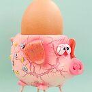 Pig Eggcup von MMPhotographyUK