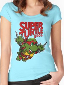 Super Turtle Mario Bros 80s T-shirt Unisex