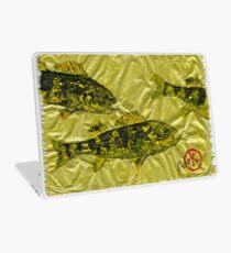 Gyotaku - Yellow Perch - Walleye Laptop Skin