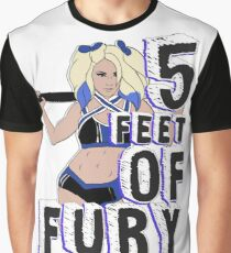 """5 Feet of Fury"" Alexa Bliss Graphic T-Shirt"