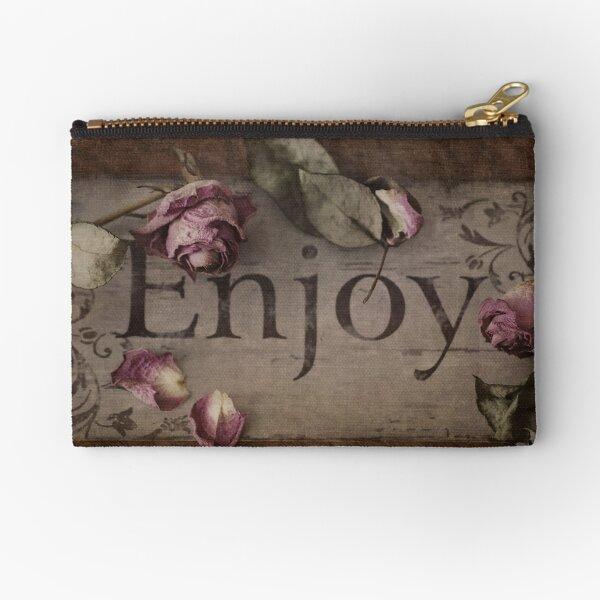 Enjoy life Zipper Pouch