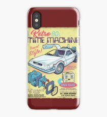 Retro Time Machine iPhone Case/Skin