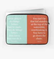 Be Brave: Tina and Amy Laptop Sleeve