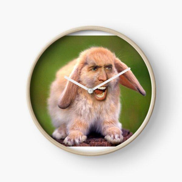 Nicolas Cage/Rabbit Clock