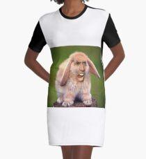 Nicolas Cage / Lapin Robe t-shirt