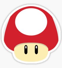 Super Mario - Super Mushroom Sticker