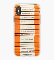 Book Spine Graphic Shirt iPhone Case