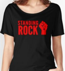 Standing Rock! No Dapl! Women's Relaxed Fit T-Shirt