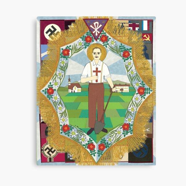 Franz Jaegerstaetter Icon Canvas Print