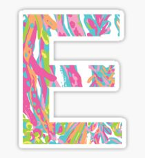E Lilly Sticker