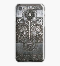Old English Woodcarving. iPhone Case/Skin