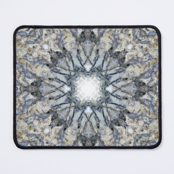 Abstract kaleidoscope marble design Mouse Pad