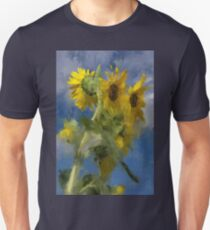 An Impression of Sunflowers In The Sun Unisex T-Shirt