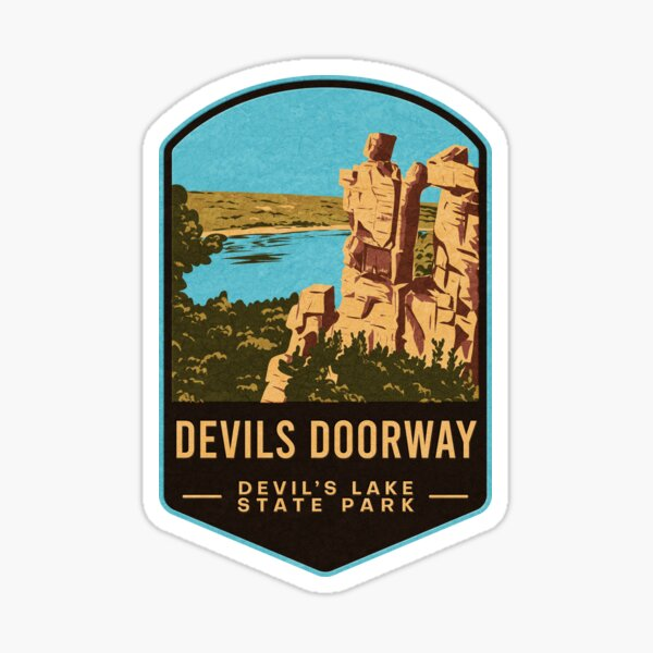 Devils Doorway Devil's Lake State Park Sticker