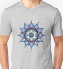 Mandala : Blooming Star Unisex T-Shirt