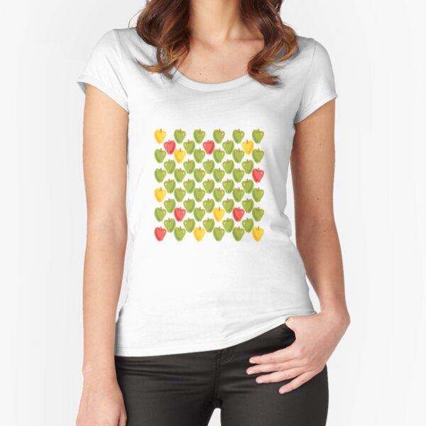 Sweet Apples Fitted Scoop T-Shirt