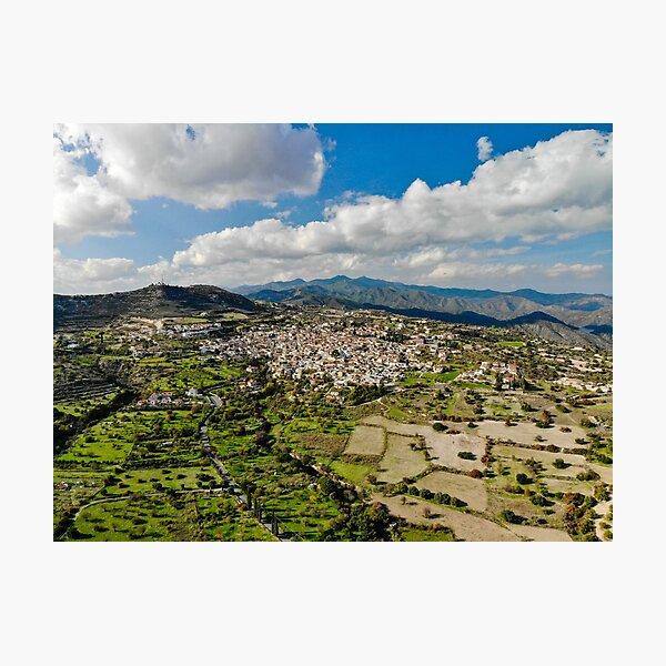 Lefkara Village Cyprus Photographic Print