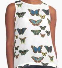 Butterflies- a beautiful collecton from Albertus Seba Contrast Tank