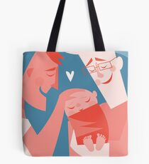 New Dads <3 Tote Bag