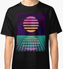 Outrun Sun Art! Classic T-Shirt