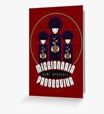 Missionaria Protectiva Mug Greeting Card