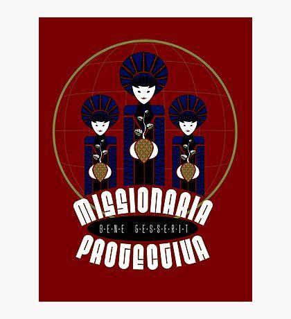 Missionaria Protectiva Mug Photographic Print