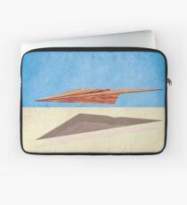 Paper Airplanes of Wood 14 Laptop Sleeve