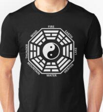 Tai Chi Yin Yang King Wen Bagua Ancient Symbol I Ching Unisex T-Shirt