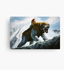 The Golden Compass Painting Canvas Print