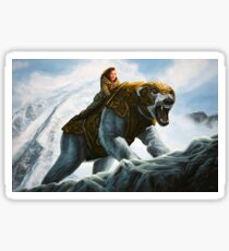 The Golden Compass Painting Sticker