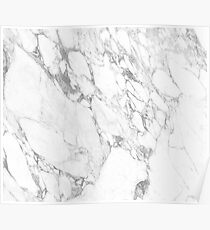 Arabescatto Marble Poster