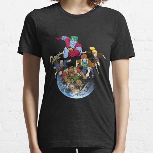 Capitaine planète équipe T-shirt essentiel