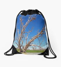 Menindee Lakes Drawstring Bag