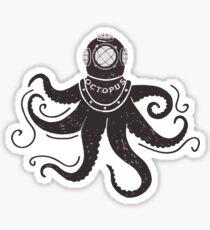 Born to Dive Deep - Octopus Sticker