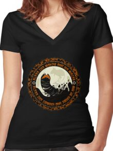 Shai Hulud 2  Women's Fitted V-Neck T-Shirt