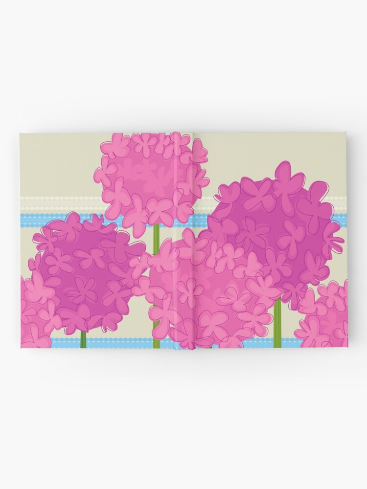 Alternate view of Pink Hydrangeas Hardcover Journal