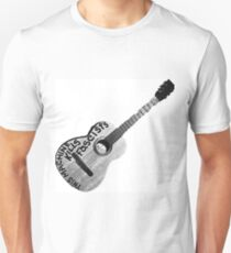 Woody Guthrie Guitar Graphic T-Shirt