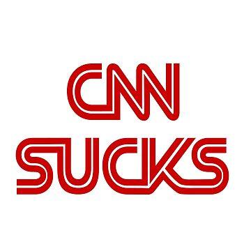 CNN SUCKS! by greatagainmerch