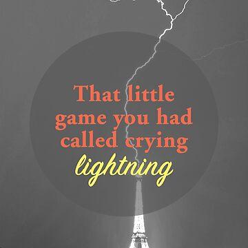 Crying Lightning  by alidamiranda