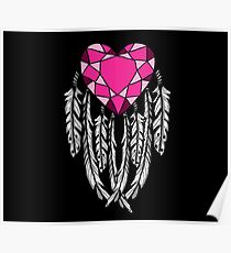Bejeweled Heart Poster