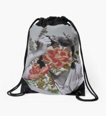 Needlepoint  Drawstring Bag