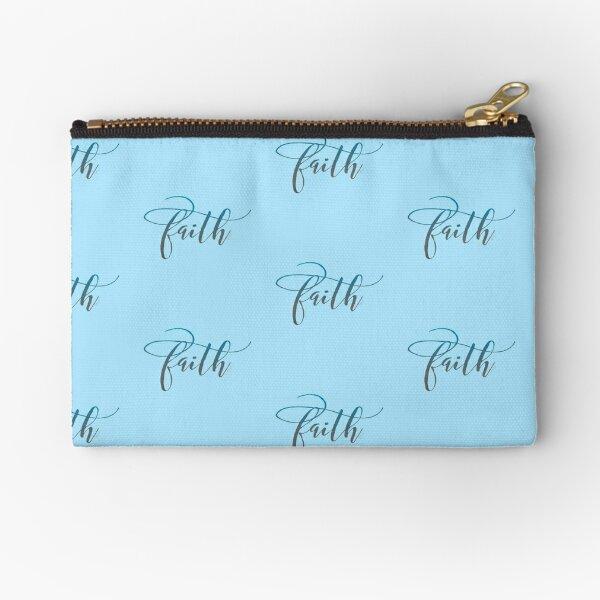 Just Faith Zipper Pouch