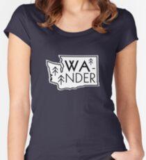 Wander Washington Women's Fitted Scoop T-Shirt