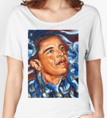 President Obama Women's Relaxed Fit T-Shirt