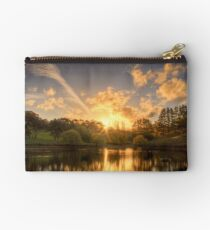 Sunset at Appletree Cottage, Adelaide Hills Studio Pouch