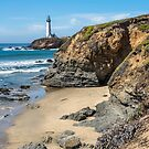 Pigeon Point Lighthouse, California by James Watkins