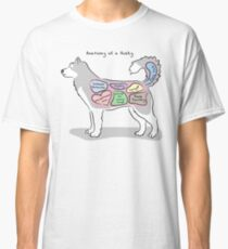 Anatomy of a Husky Classic T-Shirt